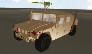 Real-Time, High-Fidelity Simulation of Autonomous Ground Vehicle