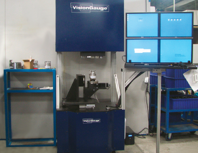 The 5-axis 700 Series VisionGauge Digital Optical Comparator
